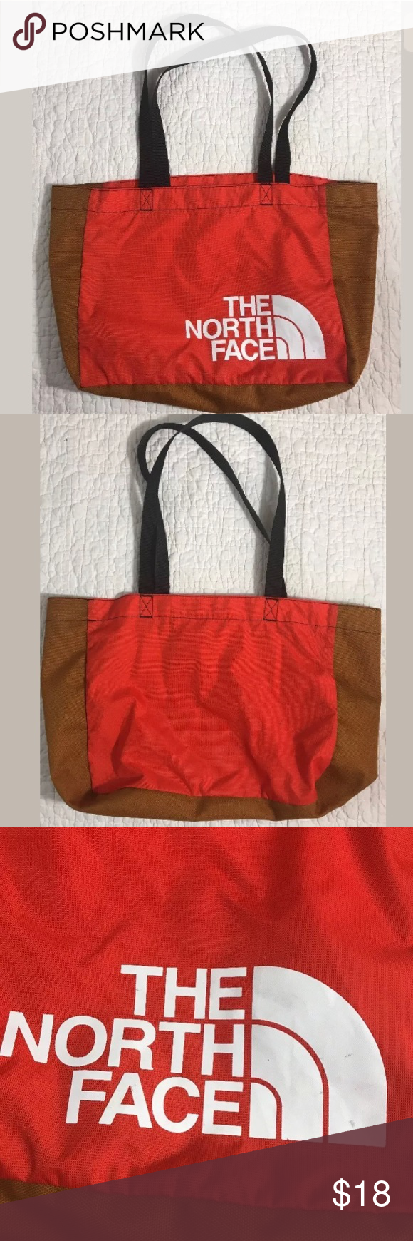 d6aea175c The North Face Travel Shoulder Orange Tote Bag The North Face Loop ...