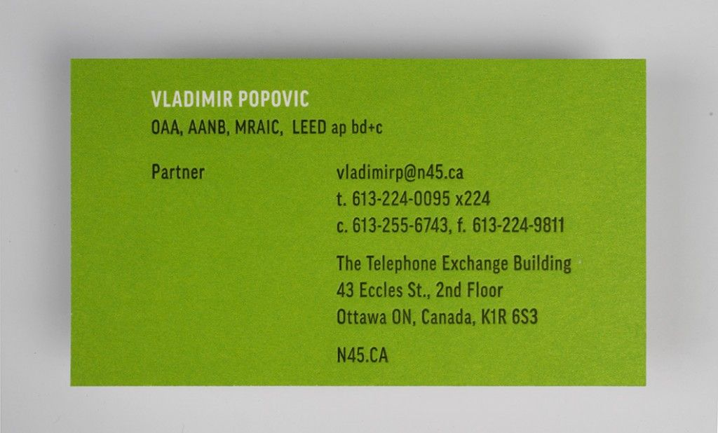 Green Business Cards Canada Choice Image - Card Design And Card Template