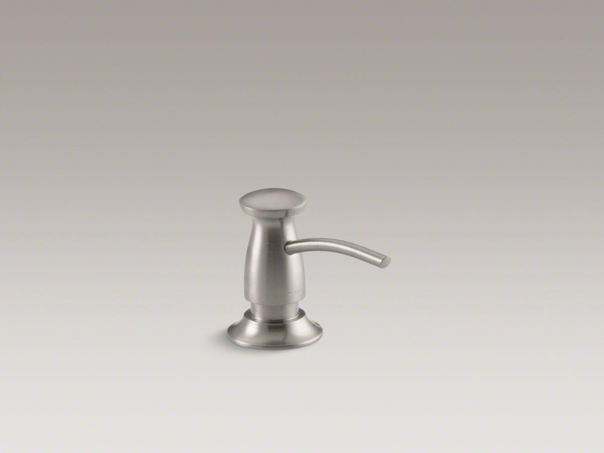 kohler design soap dispenser