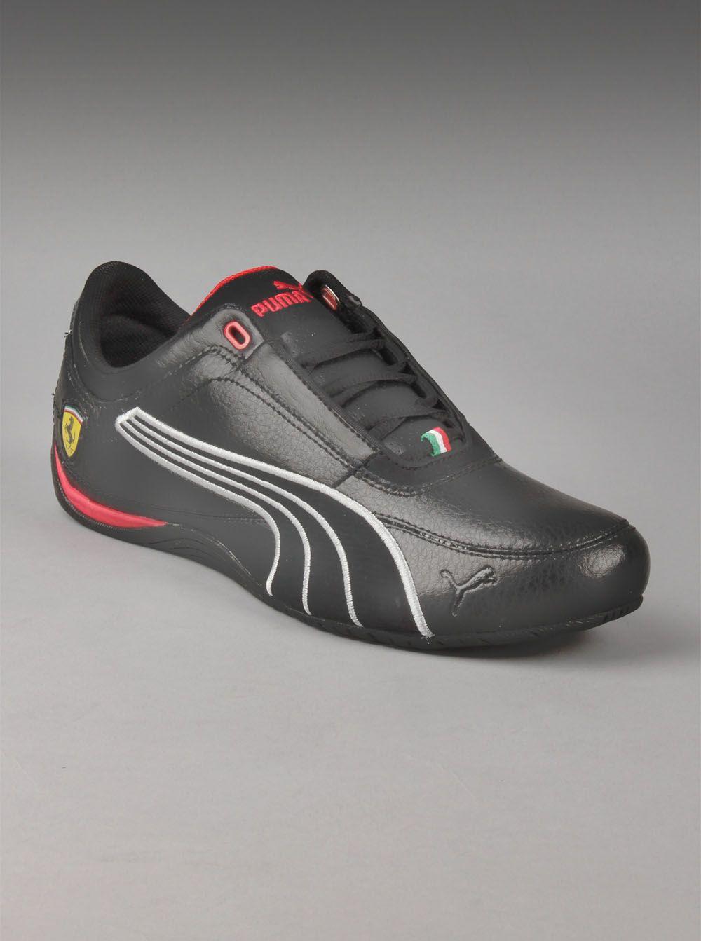 Puma® Ferrari Drift Cat IV Mens Carbon Shoes in Black