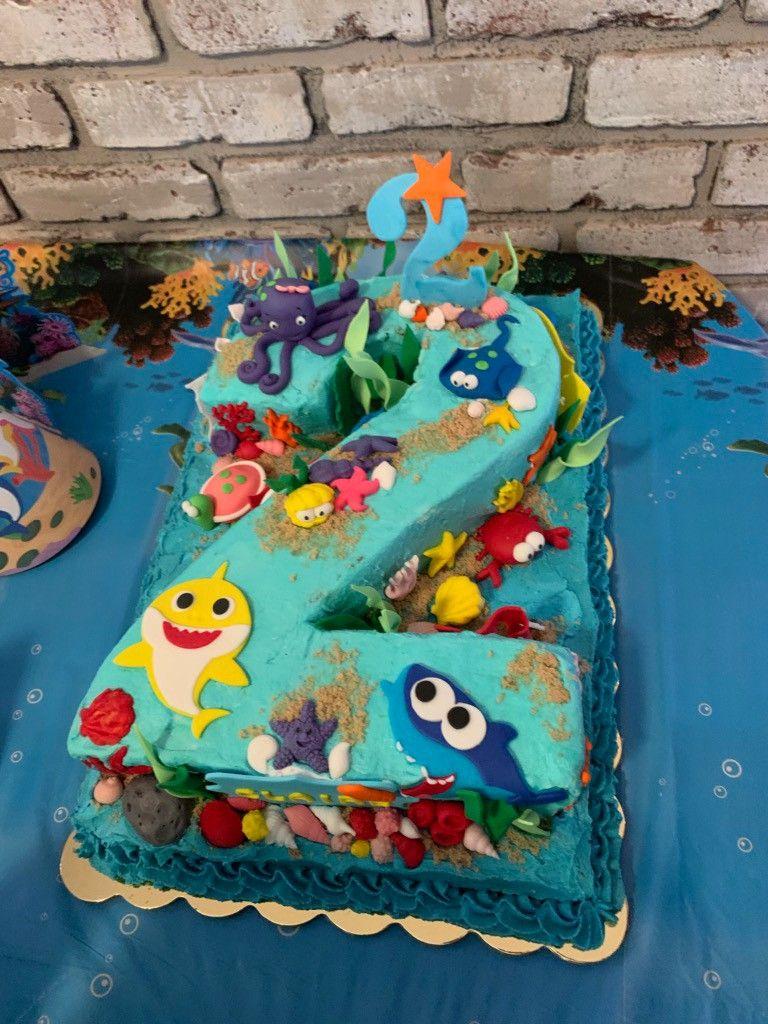 baby shark cake decorations spotlight
