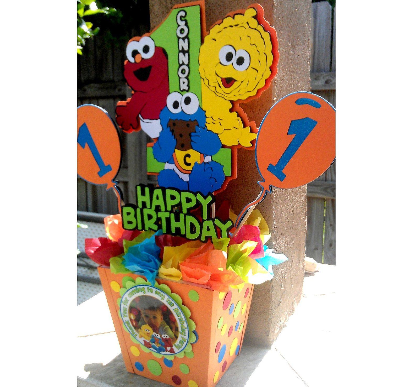 Baby Sesame Street Centerpiece | Sesame street centerpiece ...
