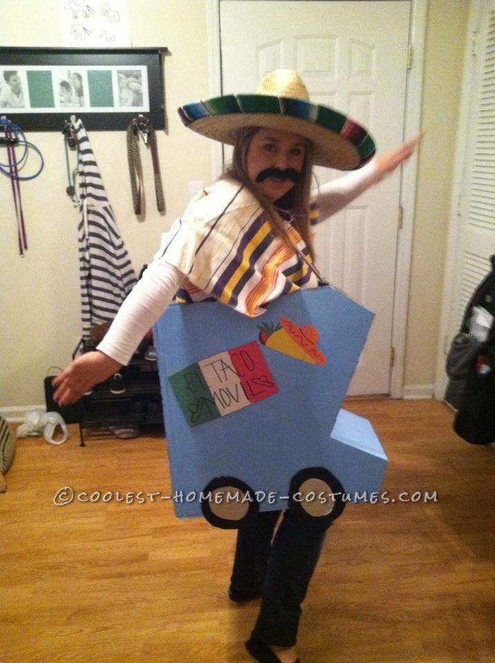 Original Taco Truck Costume El Taco Movil This