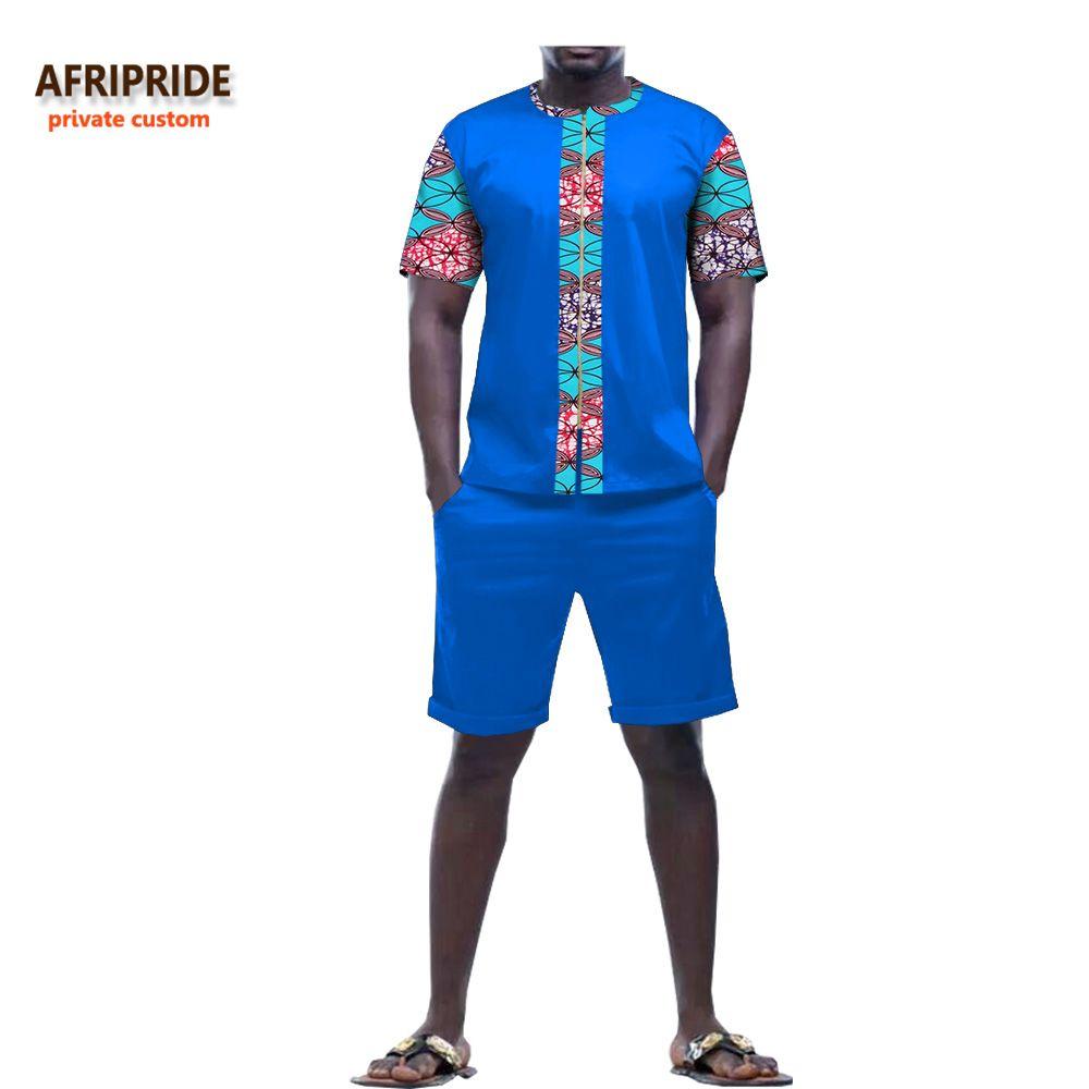 African Short Pants Suit