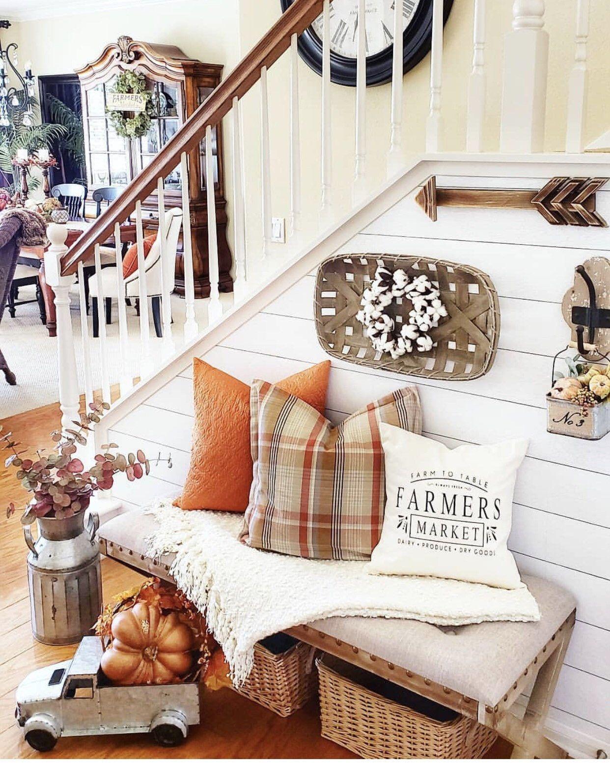 farmers market pillow cover, Joanna Gaines style, farmhouse style, modern farmhouse decor, fixer upper decor