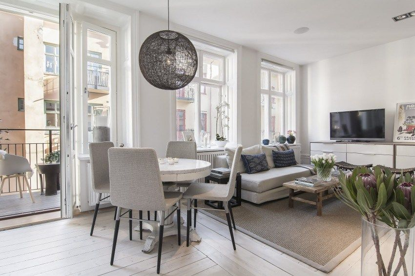 Small yet Stylish Flat in the Heart of Stockholm 08 ονειρεμενα - Efficiency Apartment Design