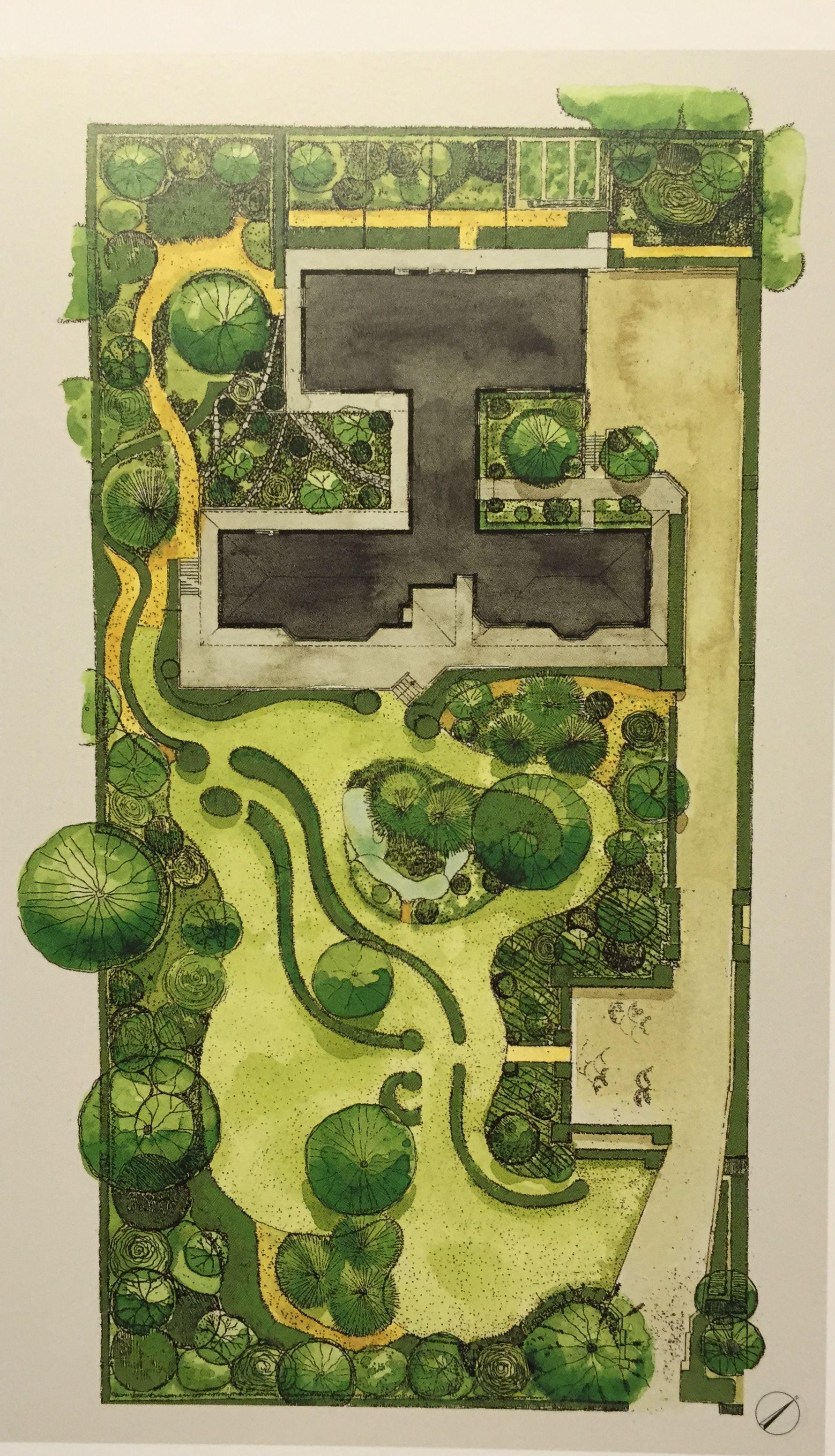 Desenho landscape architecture pinterest for Progettazione paesaggistica