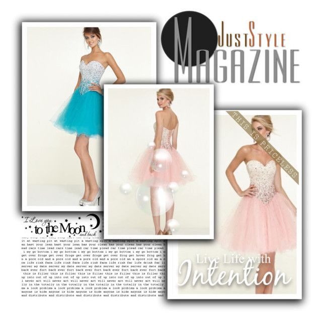 """""""Cocktailkleid Partykleid online"""" by johnnymuller on Polyvore"""