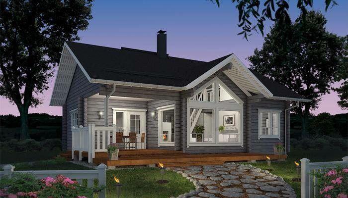 Wohnideen Holzhaus pin b auf hytte