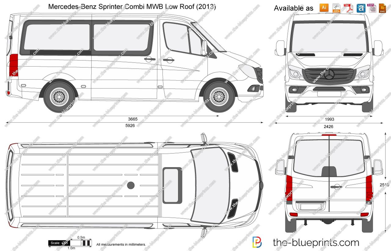 Mercedes Sprinter 313 Cdi Mwb Dimensions 5 In 2021 Mercedes Sprinter Sprinter Minibus Mercedes