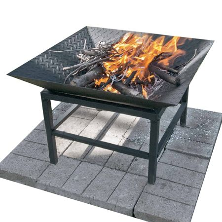 This practical fire bowl is adds style to any garden and for Fire pit project