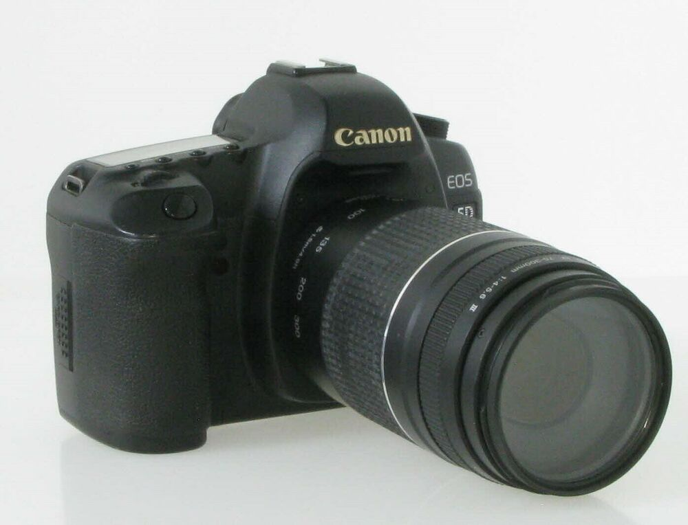 Canon Eos 5d Mark Ii With 75 300mm Lens Amp Charger No Reserve 63 Bids