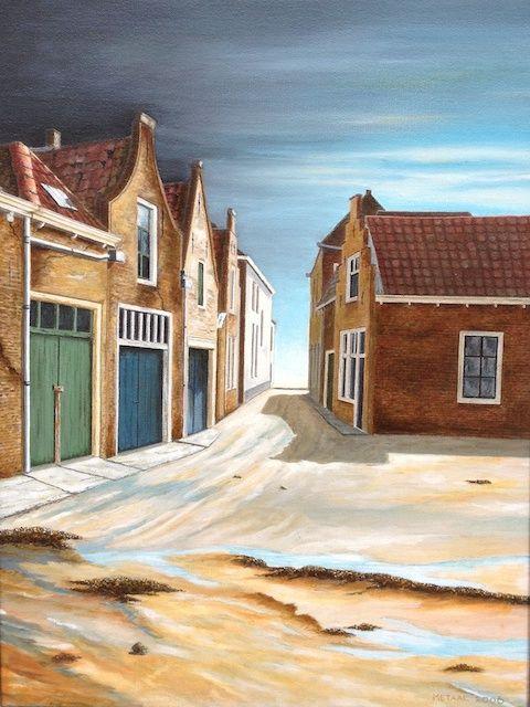 de verdwenen pakhuisjes in de Maarstraat te Zierikzee