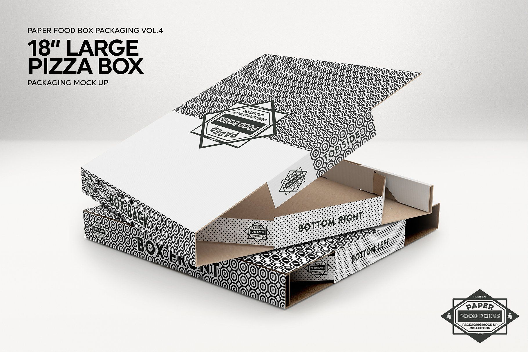 10103+ Pizza Box Mockup Psd Free Download Yellow Images Object Mockups