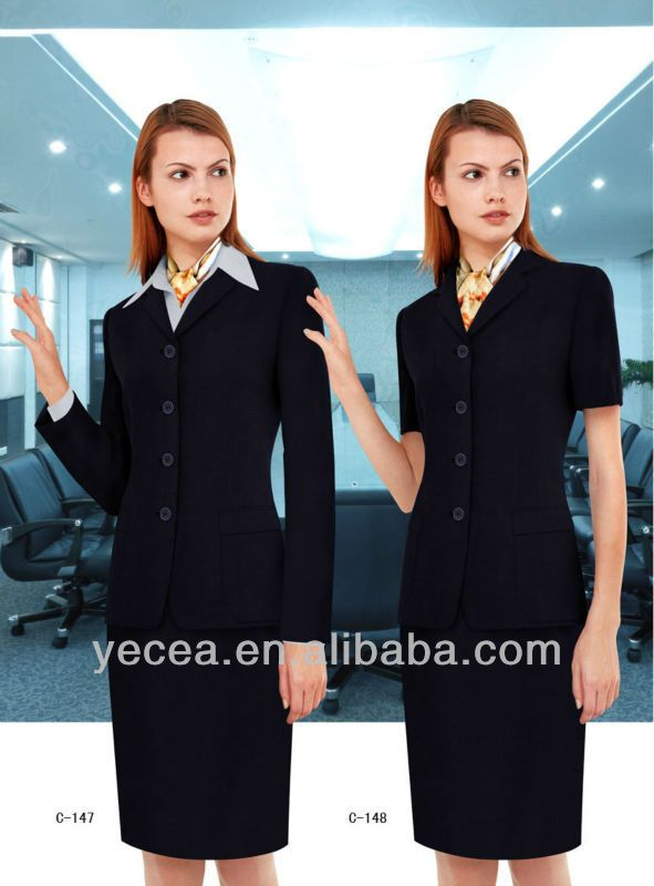 Customized Hotel Front Office Uniform Photo Detailed about