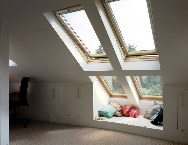 Roof Windows for Loft Conversion #loftconversions