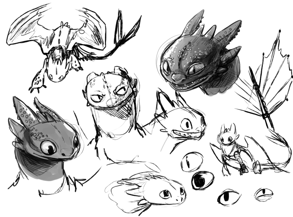 Toothless Doodles by Stalcry.deviantart.com on @deviantART | this is ...