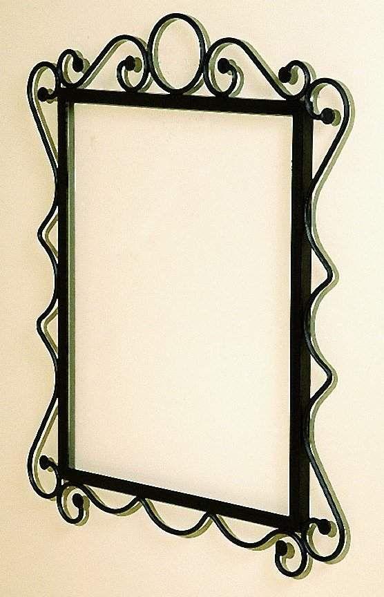 wrought_iron_mirror_frame_w_mirror_glassjpg 556864 - Wrought Iron Picture Frames