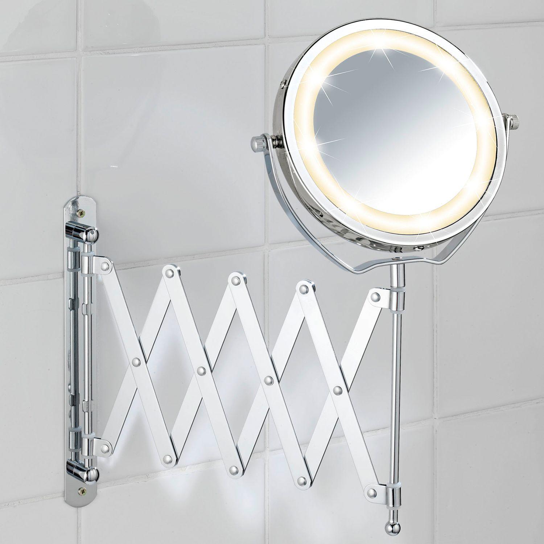 Miroir Grossissant Lumineux Brolo In 2020 Kosmetikspiegel Kosmetikspiegel Mit Beleuchtung Und Runde Badezimmerspiegel