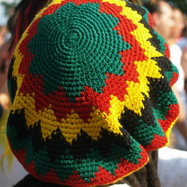 Instructions for a Crocheted Dreadlock Hat