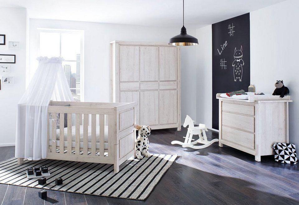 Pinolino Babyzimmer Set (3tlg) Kinderzimmer »Line« breit