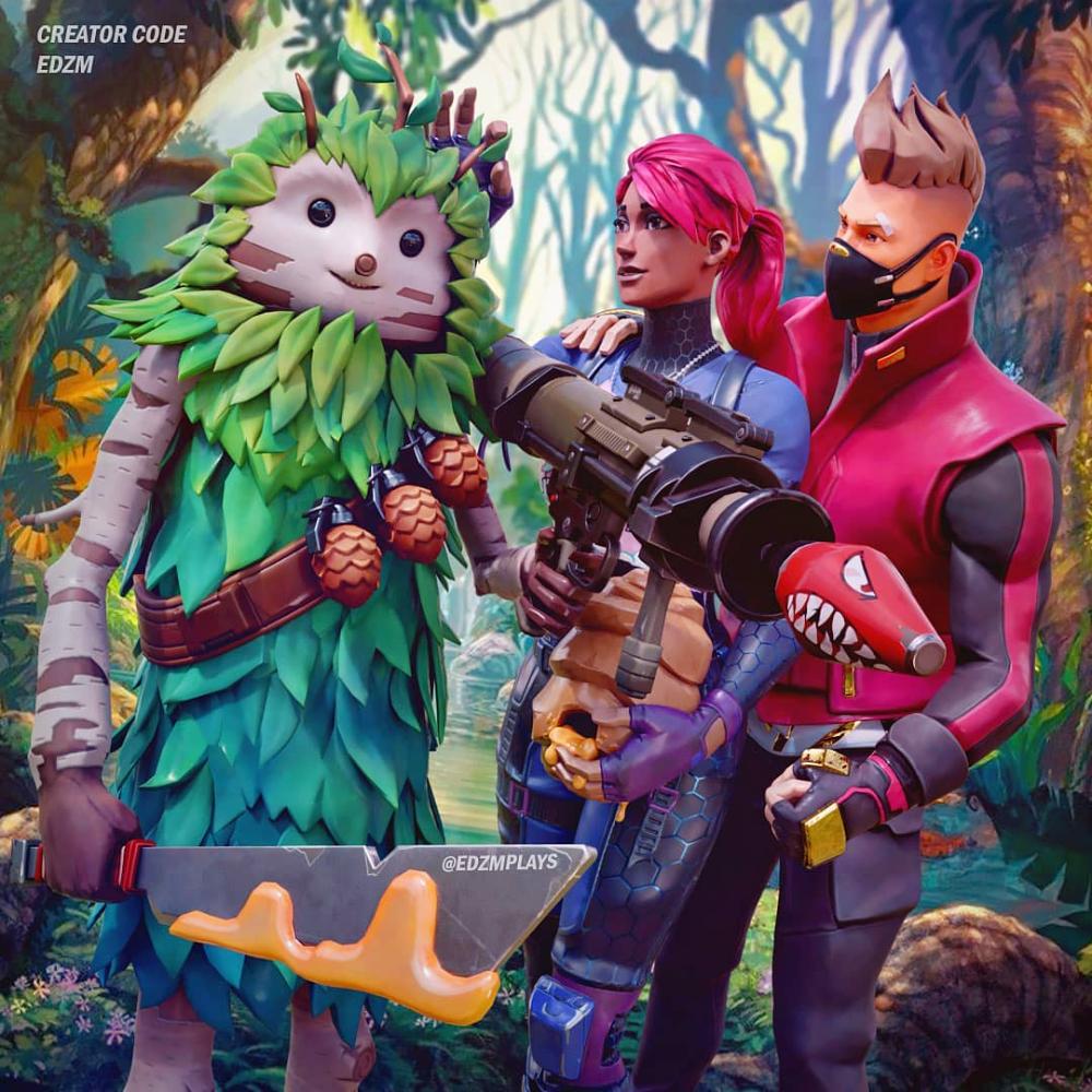Fortnite Bushranger Skin Cute Pictures Thumbnails Alikna Fortnite Marvel Superhero Posters Gamer Pics Cute Art