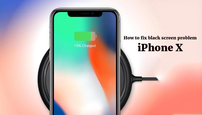 How to fix the black screen problem on iPhone X? #iphonex ...