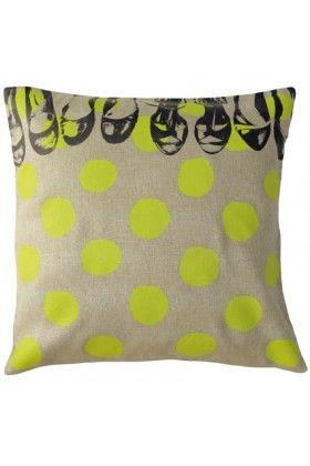 La Cerise Sur Le Gâteau Coussin Pois Granny Stylish Pillows Pillows Couch Cushions
