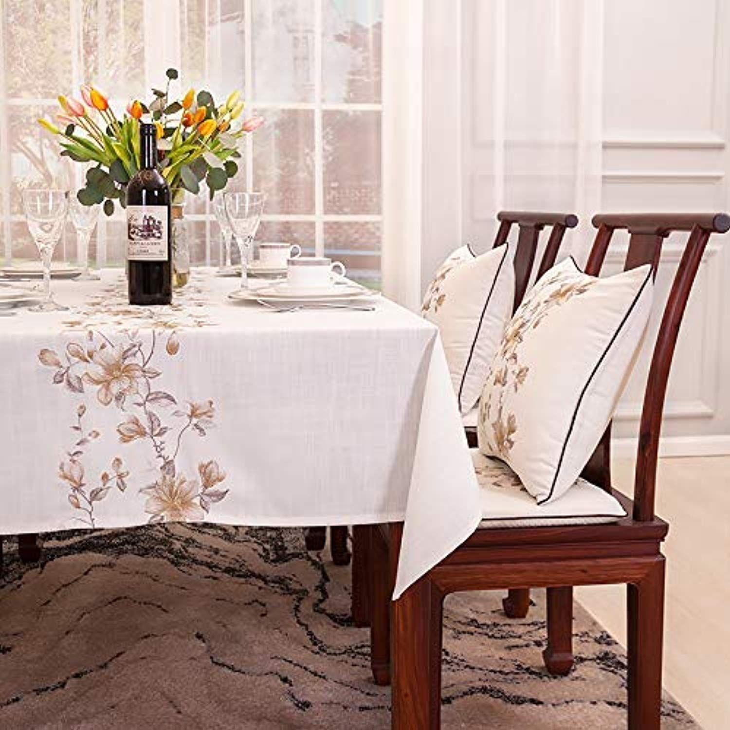 Decorative Waterproof Tablecloths Home Decor Home Modern Chinese