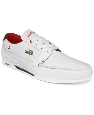 Lacoste Dreyfus Qs1 Boat Shoes Boat Shoes Shoes Mens Shoes