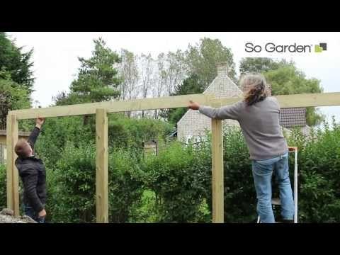 Installation Et Montage Du0027un CARPORT De SO GARDEN - YouTube дом
