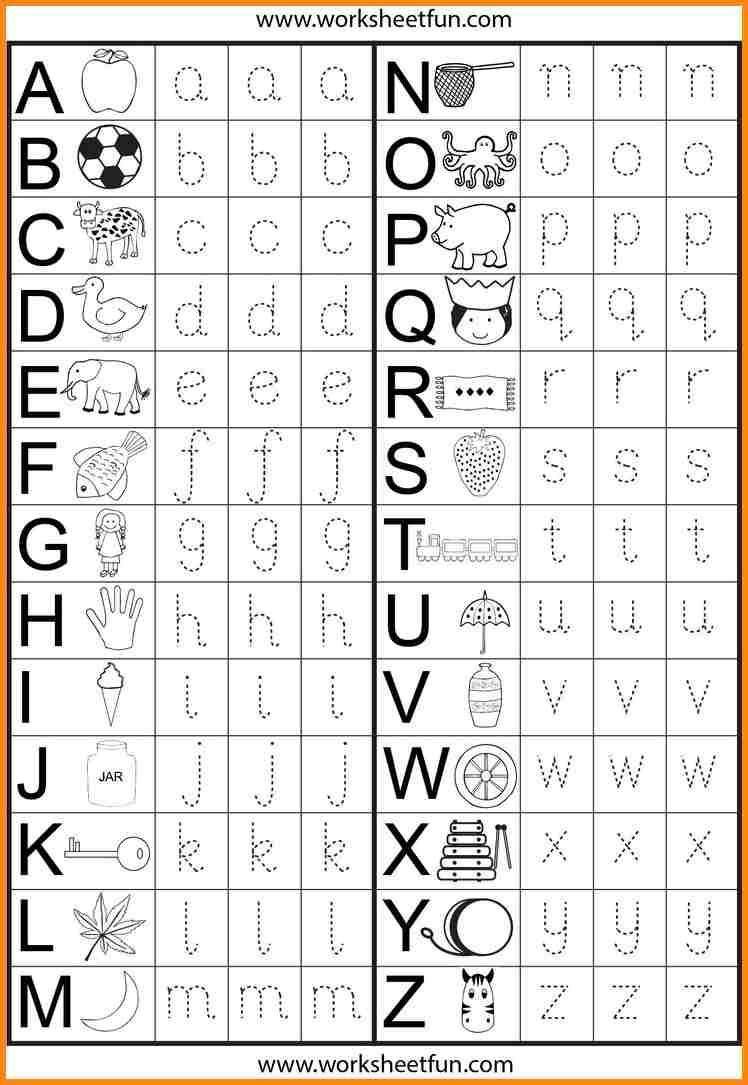 Printables Preschool Worksheets Traceable Letters Worksheets For