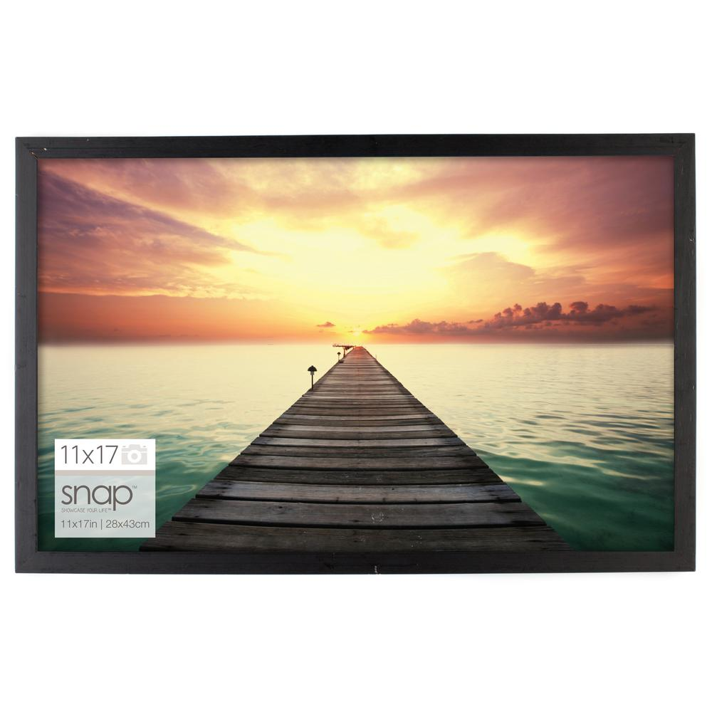Pinnacle 11 In X 17 In Poster Picture Frame 10fw1570e Picture Frame Wall Photo Frame Wall Wood Picture Frames
