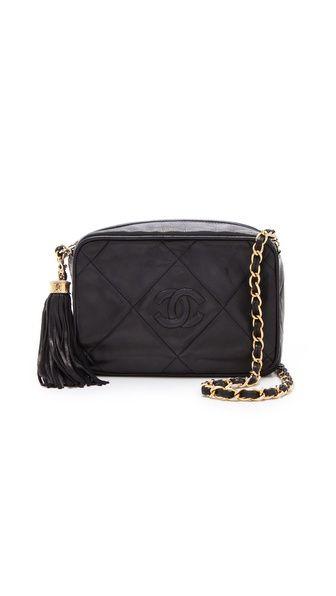 7c0fe8bbad8f Vintage Chanel Tassel Bag