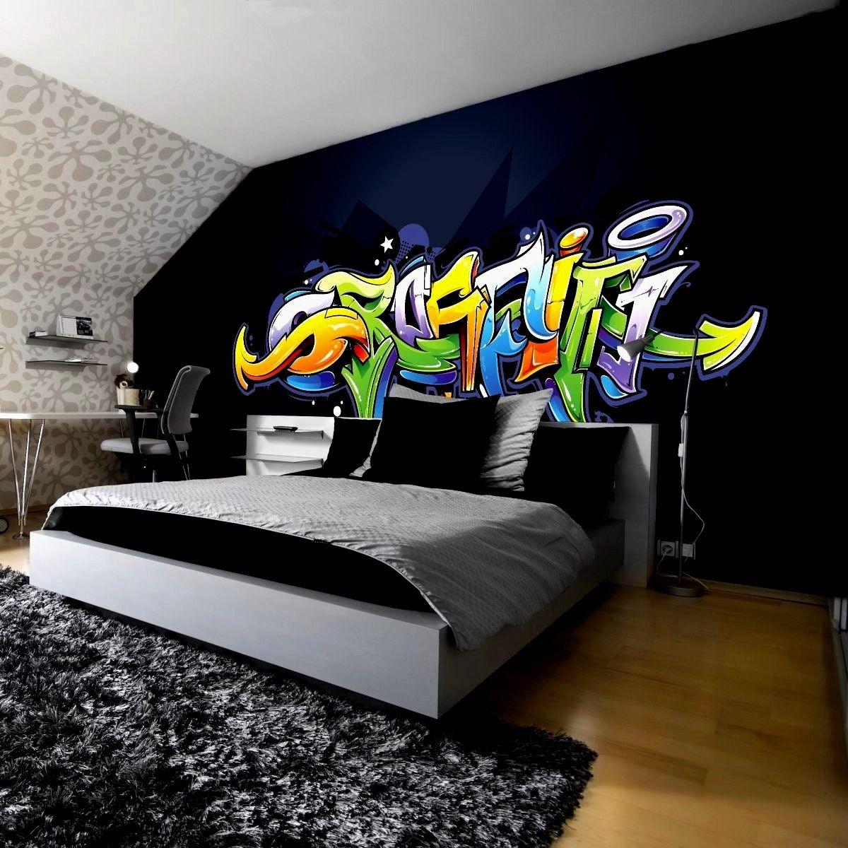 Häusliche Verbesserung Wandtattoo Jugendzimmer Graffiti Ideen Jungen ...