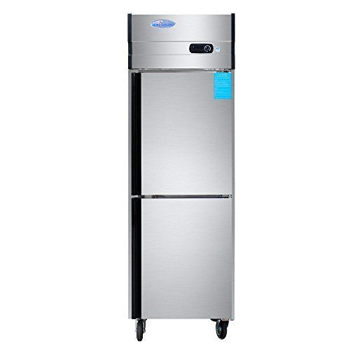 500l 2 Door Reach In Restaurant Kitchen Stainless Steel Commercial Cabinet Refrigerator Meat Port Beef Steak Fr Restaurant Kitchen Upright Freezer Refrigerator