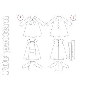 Free Blythe Doll Clothes Patterns to Sew Knit and Crochet