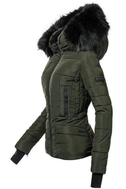 Photo of Buy Navahoo quilted jacket »Adele« high quality winter jacket with fine faux fur hood online OTTO