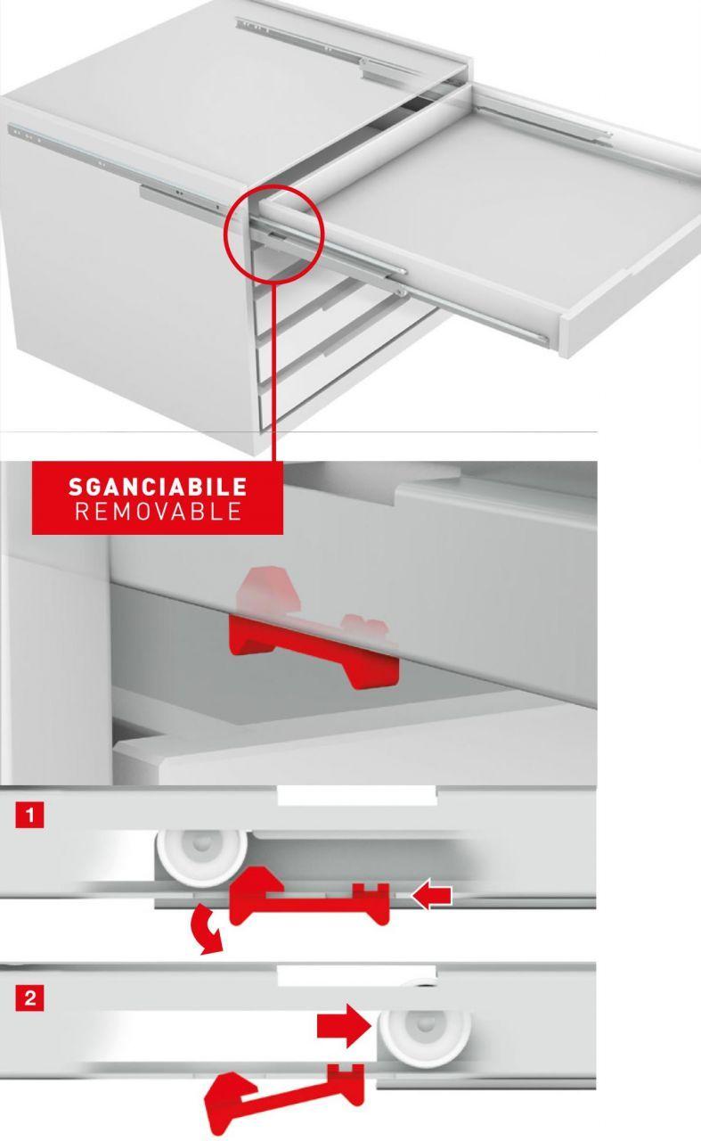 Roller Full Extension Runners For Drawers Omge 6041 In 2020 Furniture Hardware Sliding Doors Volkswagen Touran
