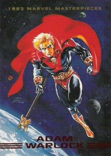 Adam Warlock 1993 Marvel Masterpieces