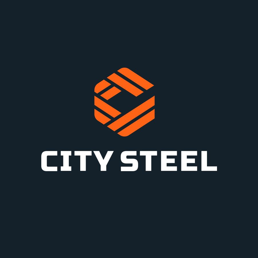 City Steel Logo For School Logo Design Logo Design Creative