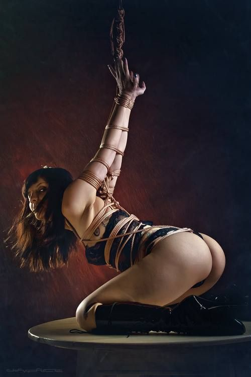 Kajira All Tied Up Pinterest Rope Art Submissive
