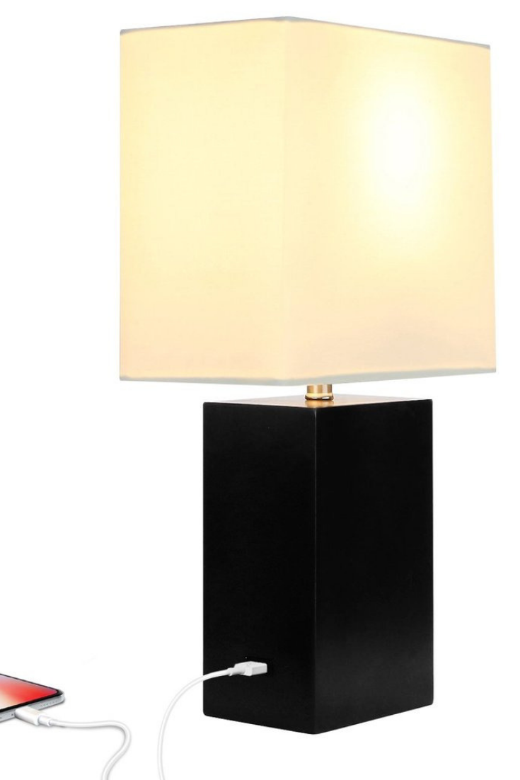 Convenient Desk Table Lamp With Usb Portthe Base Of This