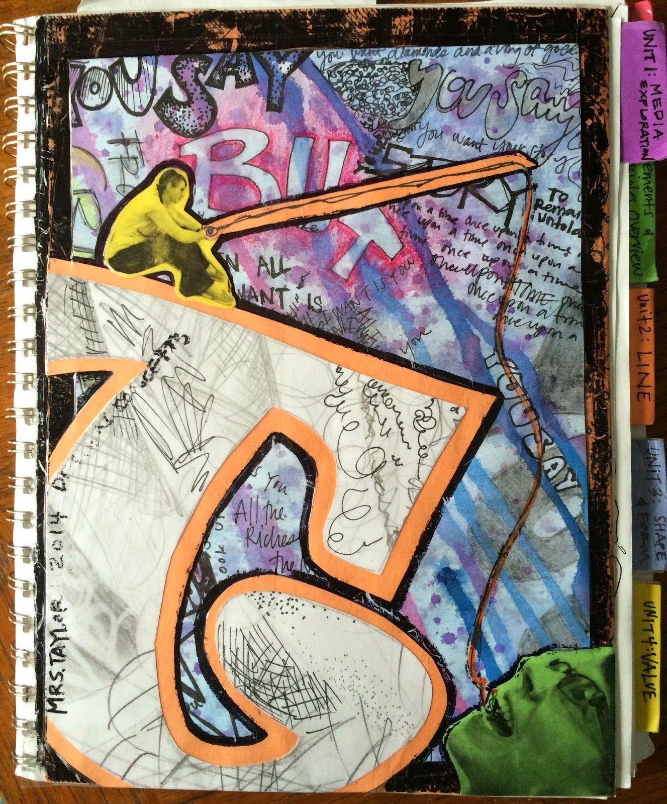 Project Art A Day Sketchbook Cover Sketch Book Art Sketchbook