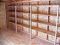 New Garage Shelves