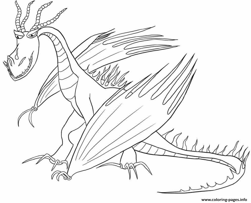 Print Hookfang Dragon Coloring Pages Dragon Coloring Page Coloring Pages Dragon Pictures To Color