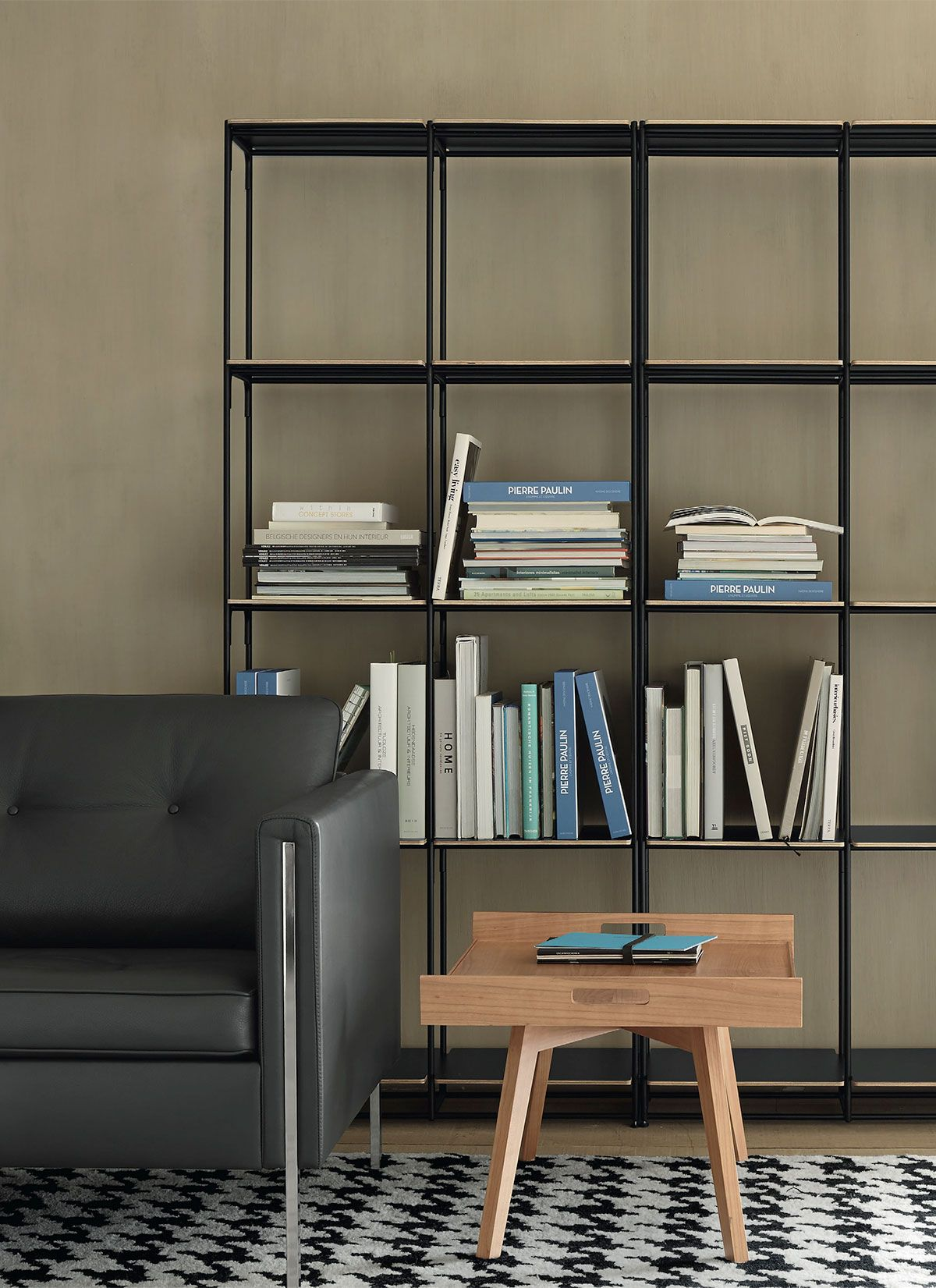 La Bibliotheque Fil Bookcase Designed By Pierre Paulin For Ligne