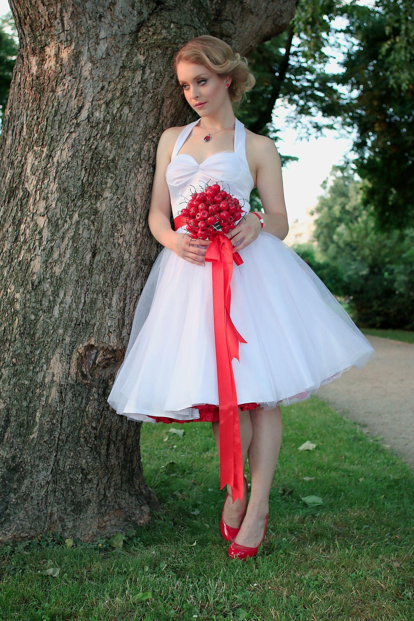 rockabilly bride, rockabilly wedding dress, rockabilly cherry ...