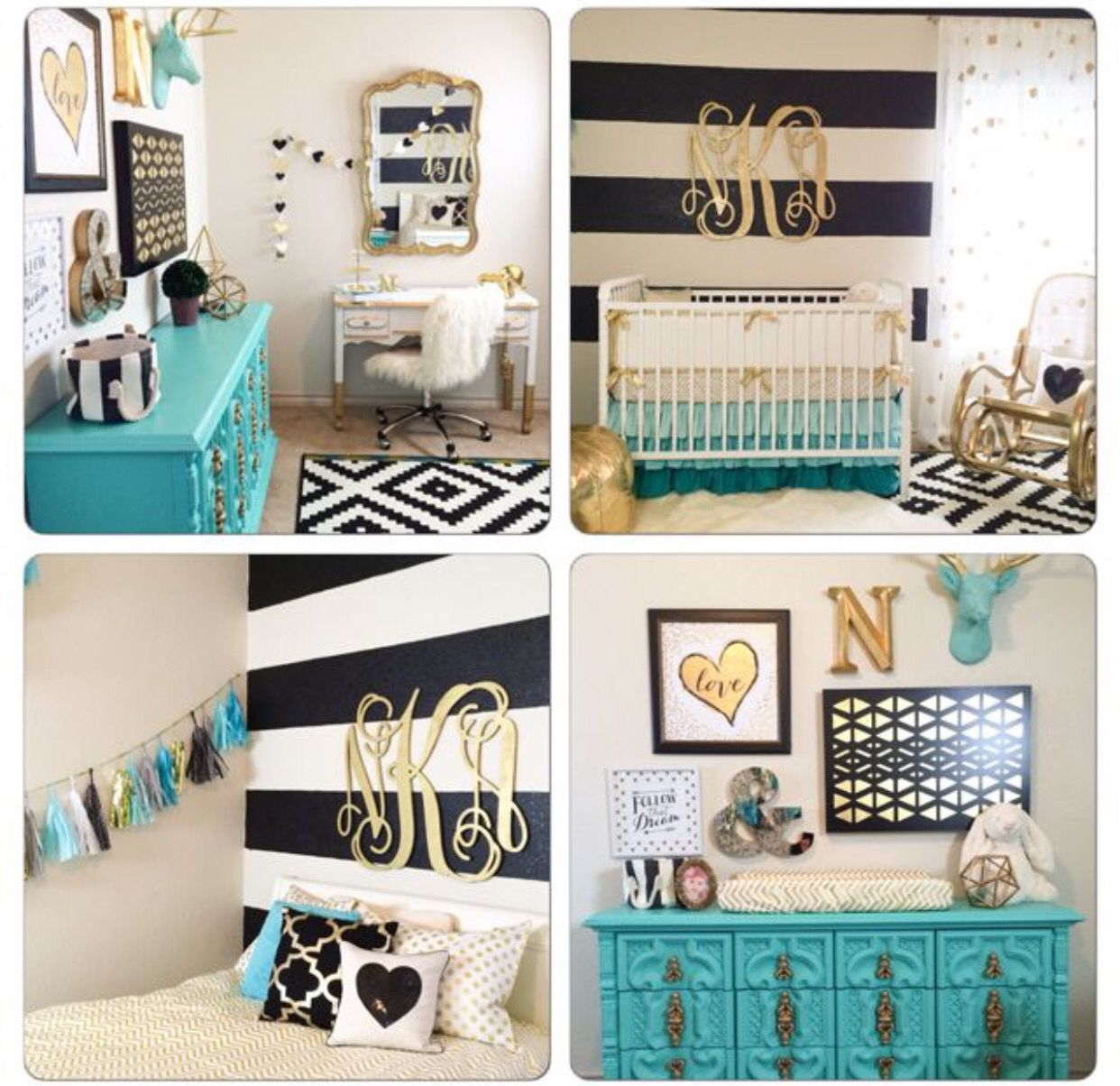 Black and white and teal bedroom - Explore Teal Bedroom Decor Black Gold Bedroom And More