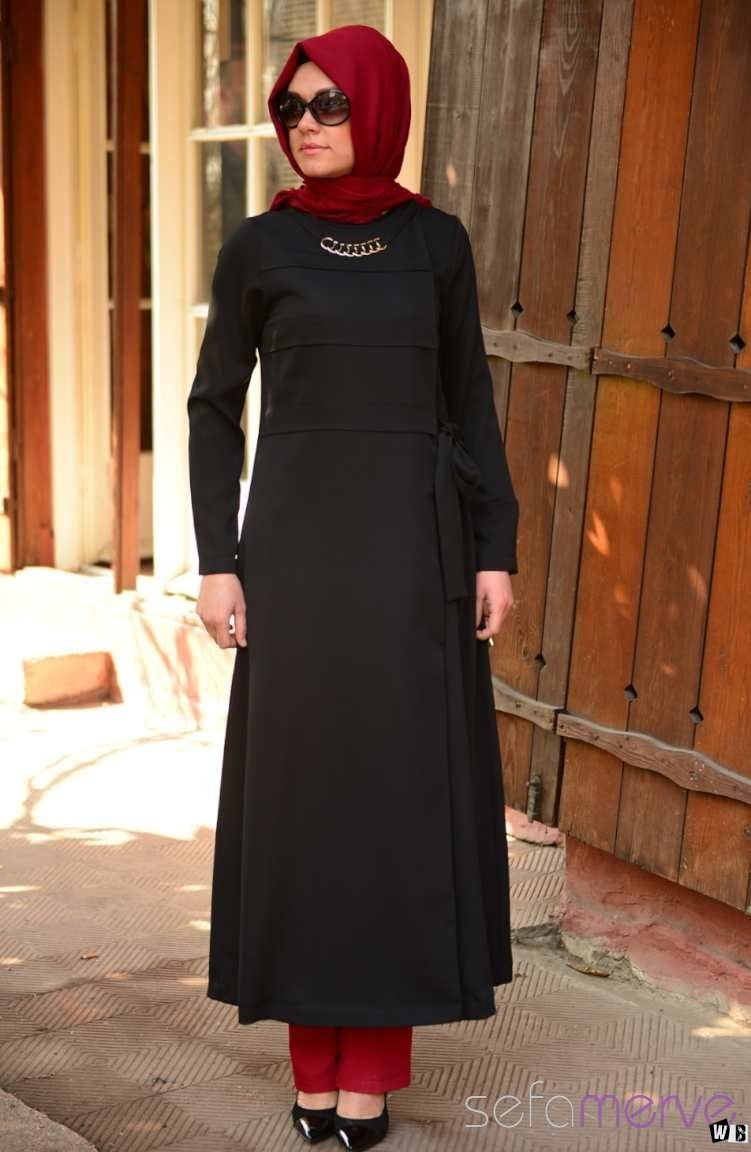 عبايات دبي 2015 صور عبايات 2015 خليجية سوداء اجمل عبايات خليجيه Fashion Dresses Hijab Dress